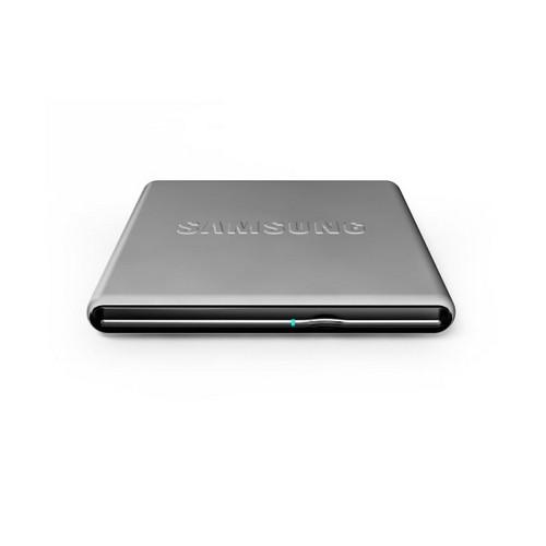 Unitate optica SAMSUNG DVD+/-RW 8x, Extern, argintiu, slim, Buffer Under Run technology, USB 2.0, Retail (SE-S084D/TSSS)