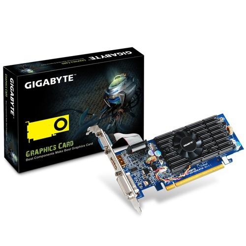 Placa video GIGABYTE Nvidia GeForce 210 512MB DDR2, 64bit, PCI-EX (N210D2-512I)