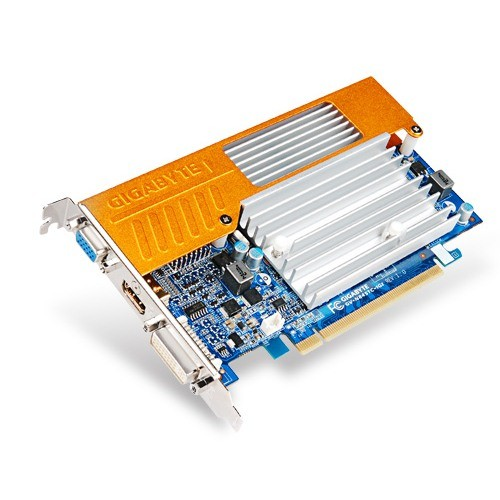 Placa video GIGABYTE Nvidia GeForce 8400GS 1024MB DDR2, 64bit, PCI-EX (N84STC-1GI)