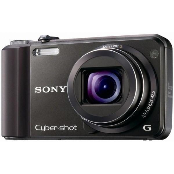 Aparat foto digital SONY H70 negru + Card 4GB + Geanta LCS-BDG, 16.1MP, zoom optic 10×, video HD (H70B4C0RODI.YS)