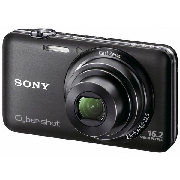 Aparat foto digital SONY WX7 negru, 16.2MP, zoom optic 5×, video Full HD, 3D (DSCWX7B.CEE8)