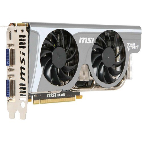 Placa video MSI Nvidia GeForce GTX460 HAWK 1024MB DDR5, 256bit, PCI-EX (N460GTX HAWK)