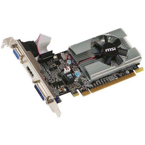 Placa video MSI Nvidia GeForce 210 1024MB DDR3, 64bit, PCI-EX (N210-MD1G/D3)