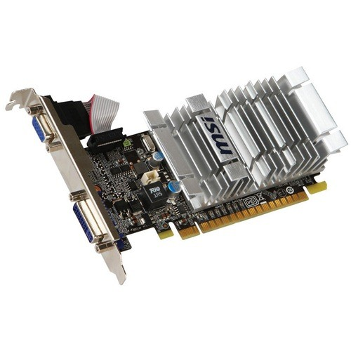 Placa video MSI Nvidia GeForce 8400GS 1024MB DDR3, 64bit, PCI-EX (N8400GS-D1GD3H/LP)