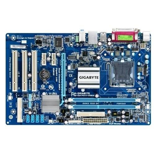 Placa de baza GIGABYTE P41T-USB3L Intel G41, socket 775
