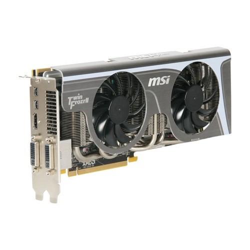 Placa video MSI AMD ATI Radeon HD6870 TWIN FROZR II, 1024MB DDR5, 256bit, PCI-Ex (R6870 TWIN FROZR II/OC)