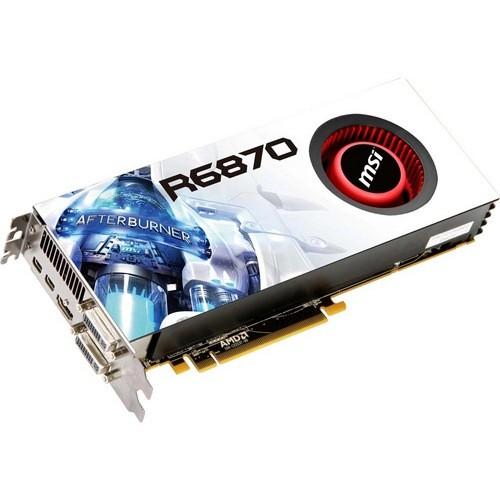 Placa video MSI AMD ATI Radeon HD6870, 1024MB DDR5, 256bit, PCI-Ex (R6870-2PM2D1GD5)