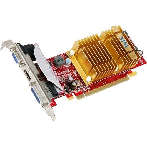 Placa video MSI AMD ATI Radeon HD4350, 512MB DDR2, 64bit, PCI-Ex (R4350-MD512H)
