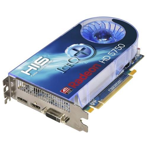 Placa video HIS AMD ATI Radeon HD5750, 1024MB DDR5, 128bit, PCI-Ex (H575QS1GD)
