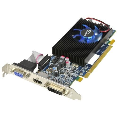 Placa video HIS AMD ATI Radeon HD5570, 1024MB DDR3, 128bit, PCI-Ex (H557F1G)