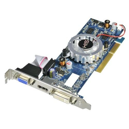 Placa video HIS AMD ATI Radeon HD4350, 512MB DDR3, 64bit, AGP (H435F512HA)