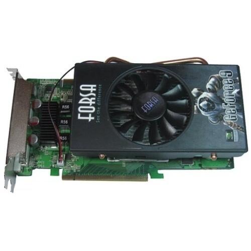 Placa video Forsa Nvidia GeForce 9800GT 512MB DDR3, 256bit, PCI-Ex (FSXFX9800GTDDR3/512/256)