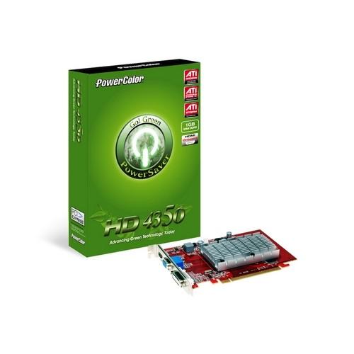 Placa video PowerColor AMD ATI Radeon HD4350, 1024MB DDR2, 64bit, PCI-Ex (AX4350 1GBD2-H)