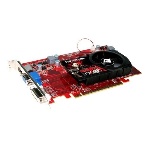 Placa video PowerColor AMD ATI Radeon HD5550, 1024MB DDR3, 128bit, PCI-Ex (AX5550 1GBK3-H)