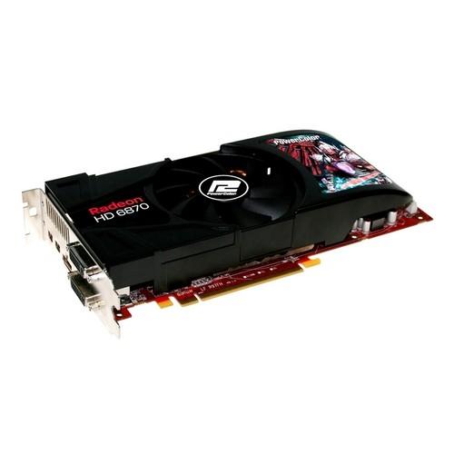 Placa video PowerColor AMD ATI Radeon HD6870, 1024MB DDR5, 256bit, PCI-Ex (AX6870 1GBD5-2DH)