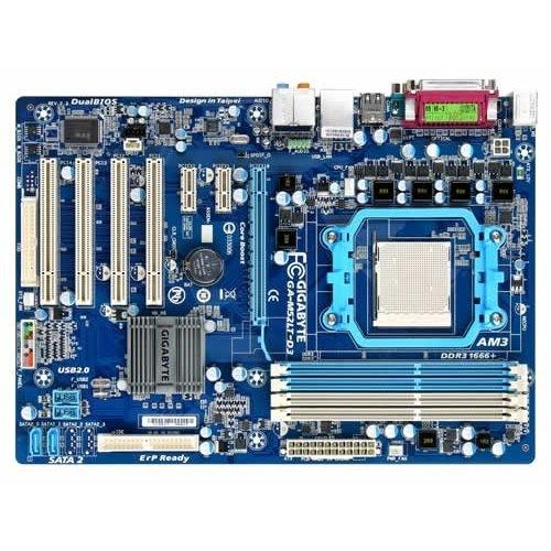 Placa de baza GIGABYTE M52LT-D3 NVIDIA nF 520LE, socket AM3