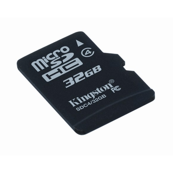 Memorie flash card Kingston SDC4/32GB 32GB microSDHC Class 4