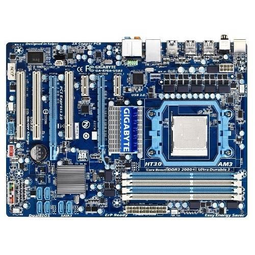 Placa de baza GIGABYTE 870A-USB3 AMD 870FX+SB850, socket AM3