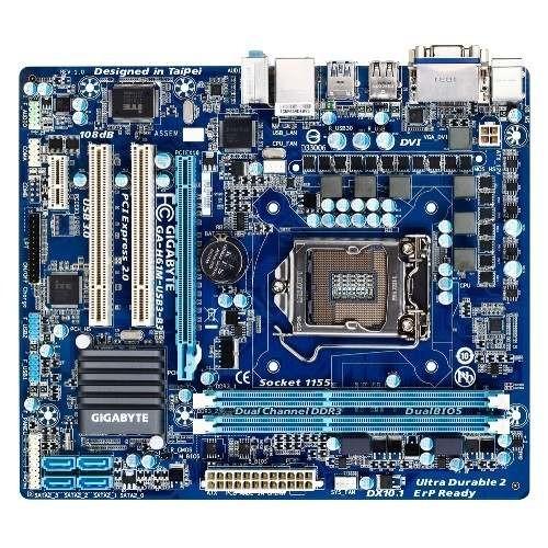 Placa de baza GIGABYTE H61M-USB3 Intel H61, socket 1155