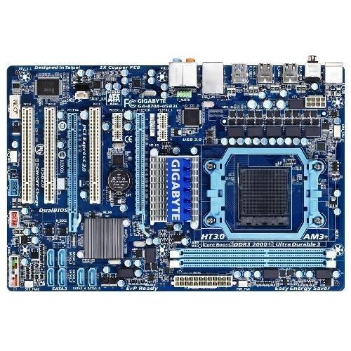 Placa de baza GIGABYTE 870A-USB3L AMD 870FX+SB850, socket AM3