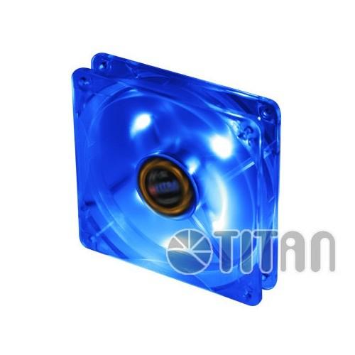 Ventilator carcasa TITAN 120mm, LED albastru (TFD-12025GT12Z/LD2)