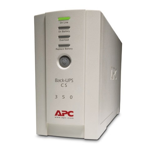 UPS APC Back-UPS CS, 350VA/210W, off-line (BK350EI)