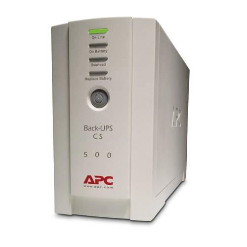 UPS APC Back-UPS CS, 500VA/300W, off-line (BK500EI)
