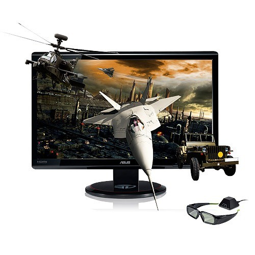 Monitor ASUS VG236HE LCD 23 inch 3D Wide 1920x1080 (VG236HE)