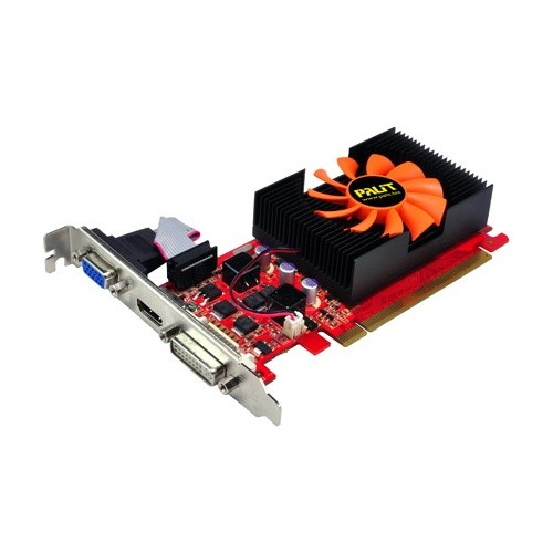 Placa video PALIT DNGT430HD2GBD3 Nvidia GeForce GT430 2048MB DDR3, 128bit, PCI-EX