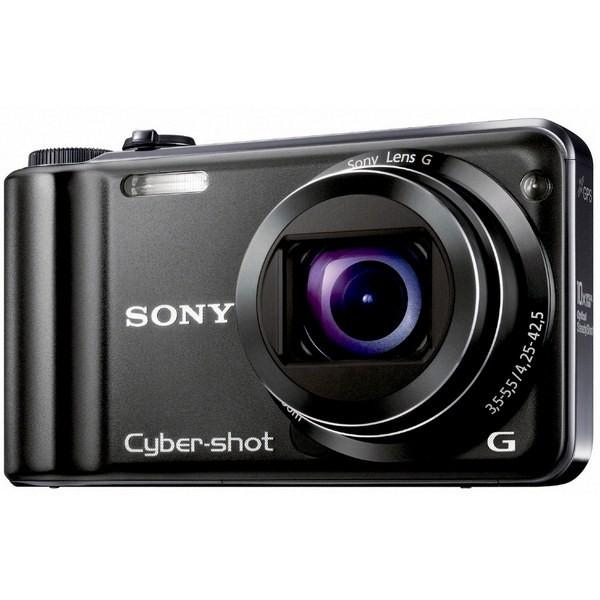 Aparat foto digital SONY HX5V Black + Acumulator NP-FG1, 10.2MP, zoom optic 10,2×, video Full HD (HX5VBNPFXXDI.YS)