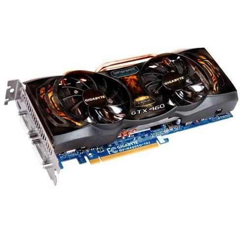 Placa video GIGABYTE Nvidia GeForce GTX460 1024MB DDR5, 256bit, PCI-EX (N460SO-1GI)