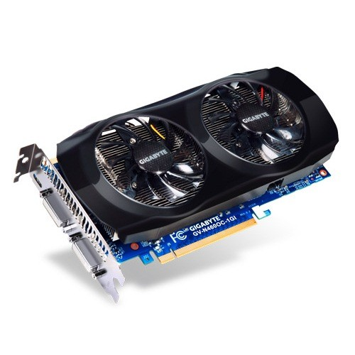 Placa video GIGABYTE Nvidia GeForce GTX460 1024MB DDR5, 256bit, PCI-EX (N460OC-1GI)