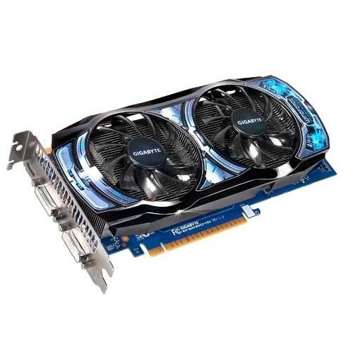 Placa video GIGABYTE Nvidia GeForce GTS450 1024MB DDR5, 128bit, PCI-EX (N450OC2-1GI)