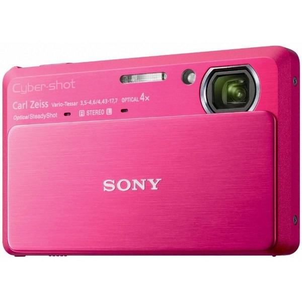 Aparat foto digital SONY TX9 roşu, 12.2MP, zoom optic 4×, video Full HD, 3D (DSCTX9R.CEE8)
