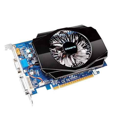Placa video GIGABYTE Nvidia GeForce GTS440 1024MB DDR3, 128bit, PCI-EX (N440D3-1GI)