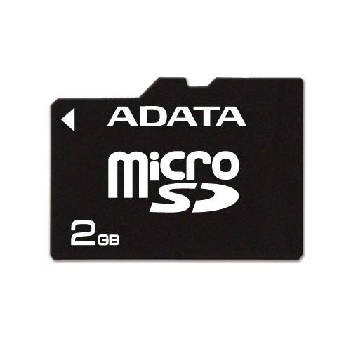 Memorie flash card ADATA AUSD2GZ-RA1 2GB Secure Digital microSD