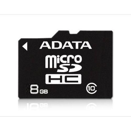 Memorie flash card ADATA AUSDH8GCL10-RA1 8GB Secure Digital microSDHC Class 10