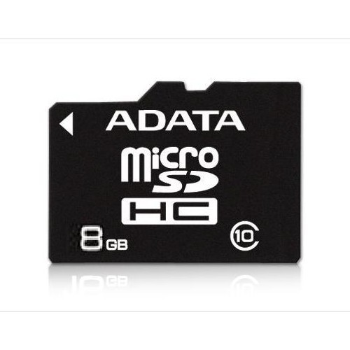 Memorie flash card ADATA AUSDH8GCL10-R 8GB Secure Digital microSDHC Class 10