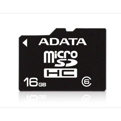 Memorie flash card ADATA AUSDH16GCL6-RA1 16GB Secure Digital microSDHC Class 6