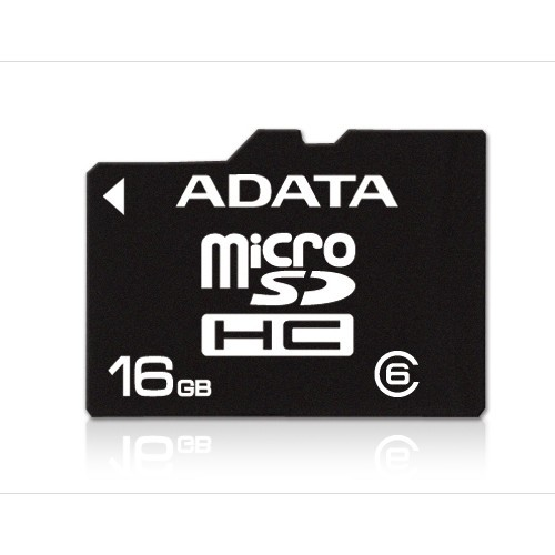 Memorie flash card ADATA AUSDH16GCL6-R 16GB Secure Digital microSDHC Class 6