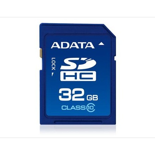 Memorie flash card ADATA ASDH32GCL10-R 32GB Secure Digital SDHC Class 10