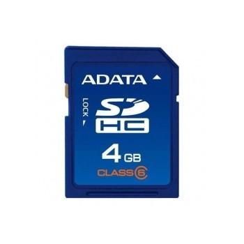 Memorie flash card ADATA ASDH4GCL6-R 4GB Secure Digital SDHC Class 6