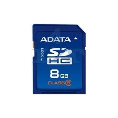 Memorie flash card ADATA ASDH8GCL6-R 8GB Secure Digital SDHC Class 6