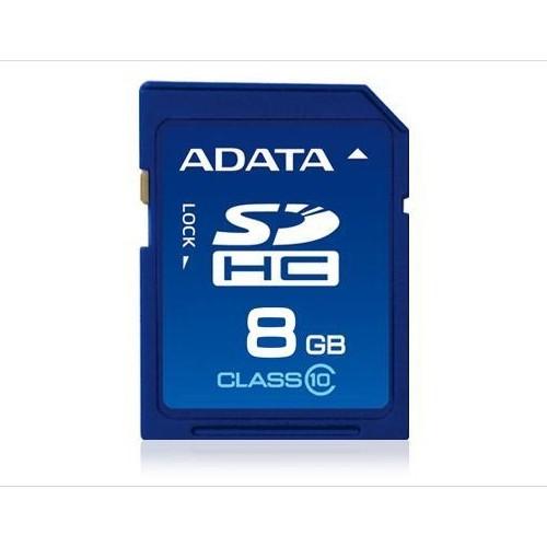 Memorie flash card ADATA ASDH8GCL10-R 8GB Secure Digital SDHC Class 10