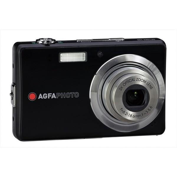 Aparat foto digital AGFAPHOTO OPTIMA 102 slim, 12MP, negru, 3x/5x zoom optic/digital (OPTIMA-102-BK)