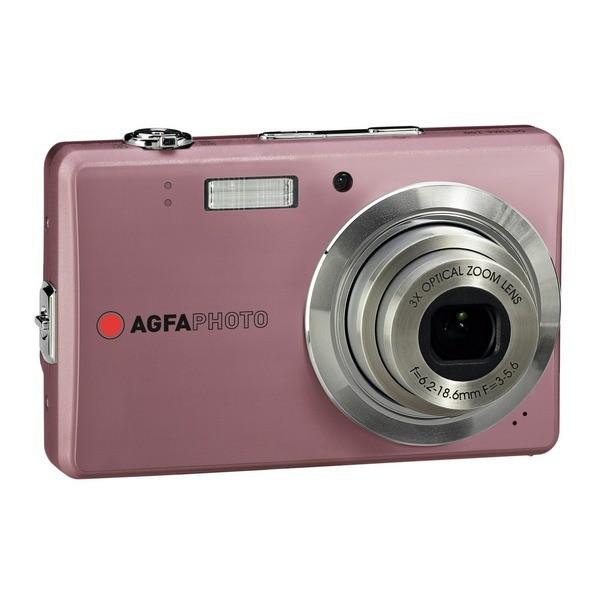 Aparat foto digital AGFAPHOTO OPTIMA 102 slim, 12MP, roz, 3x/5x zoom optic/digital (OPTIMA-102-PINK)