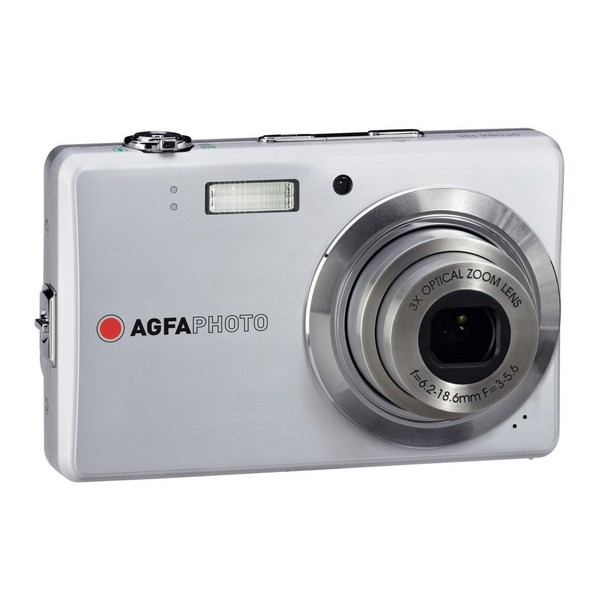 Aparat foto digital AGFAPHOTO OPTIMA 102 slim, 12MP, argintiu, 3x/5x zoom optic/digital (OPTIMA-102-SV)