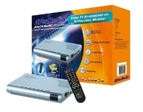 TV TUNER Avermedia AverTV BoxW7 Super,  Analog (AverTV-BoxW7-Super)