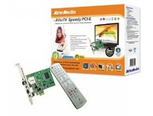 TV TUNER Avermedia Speedy, Analog, PCI-E, FM (Speedy-PciE)