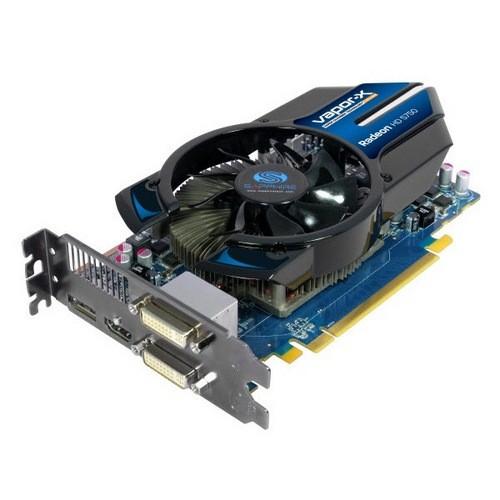 Placa video Sapphire SPHEHD5750V1G AMD ATI Radeon HD5750 Vapor-X, 1024MB DDR5, 128bit, PCI-Ex